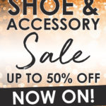shoe accessory sale NOW ON